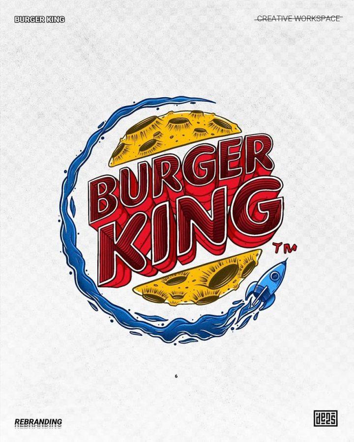 Redesign de Logos célèbres en version vachement plus fun 28