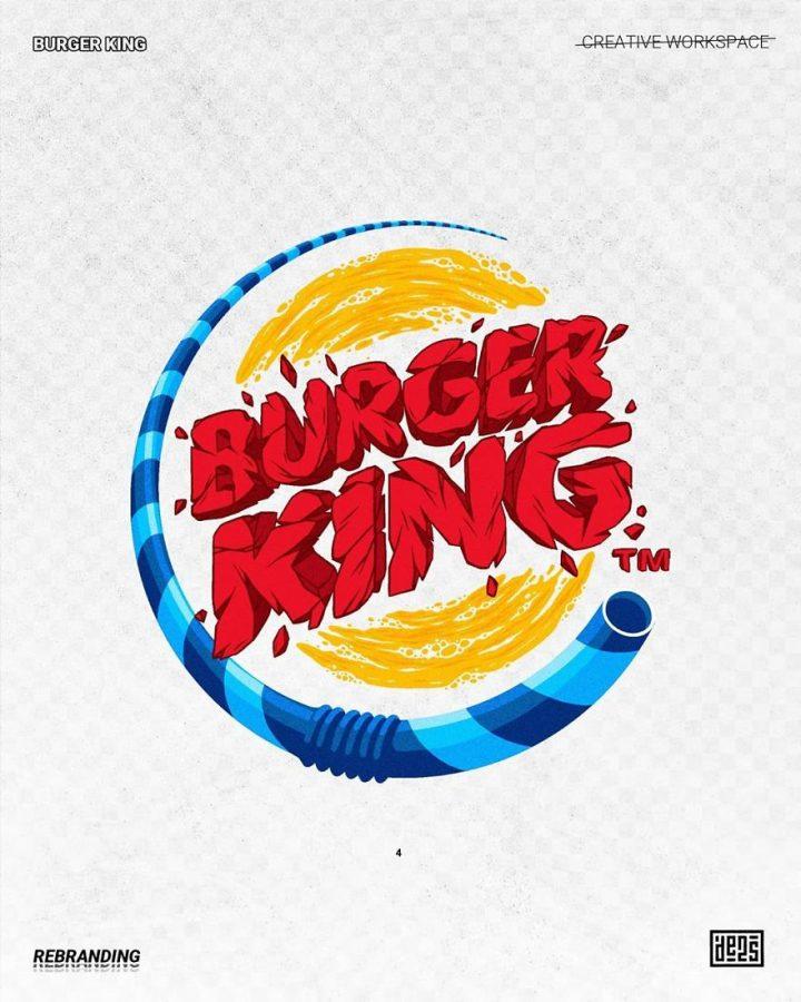 Redesign de Logos célèbres en version vachement plus fun 29