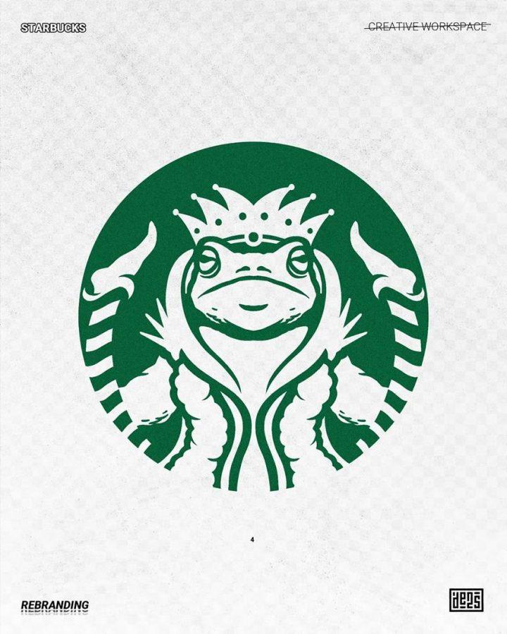 Redesign de Logos célèbres en version vachement plus fun 8