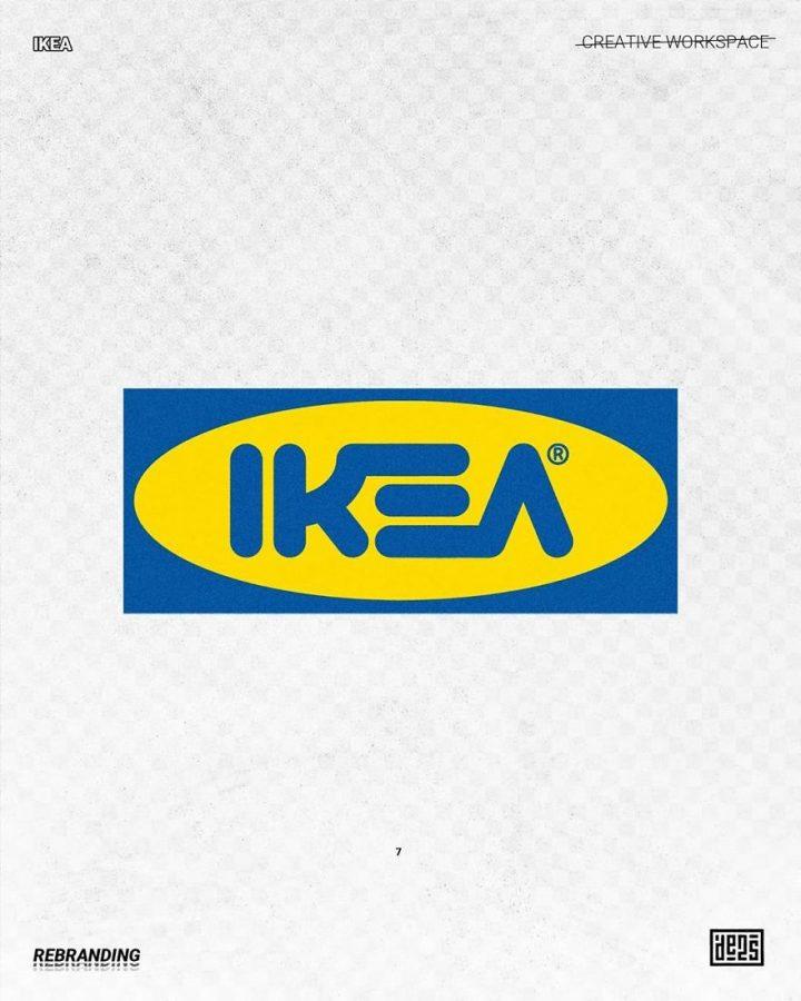 Redesign de Logos célèbres en version vachement plus fun 9