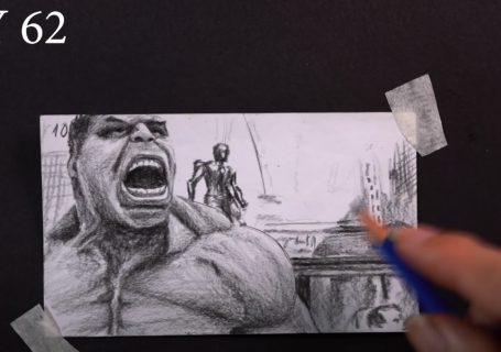 Flipbook 1100 dessins pour énerver HULK