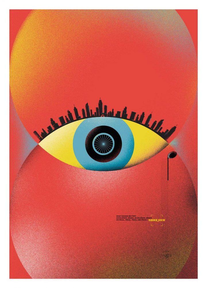 Inspiration et graphisme d'affiches de pub d'Août 2020 20