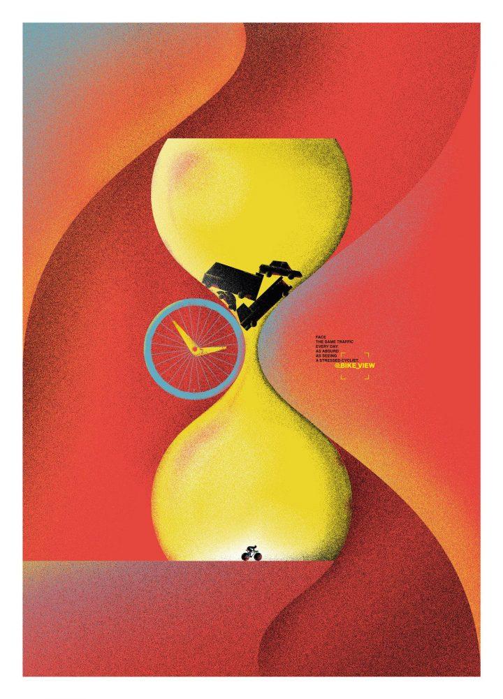 Inspiration et graphisme d'affiches de pub d'Août 2020 22