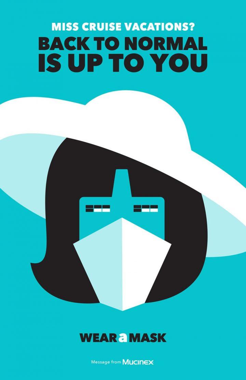 Inspiration et graphisme d'affiches de pub d'Août 2020 42