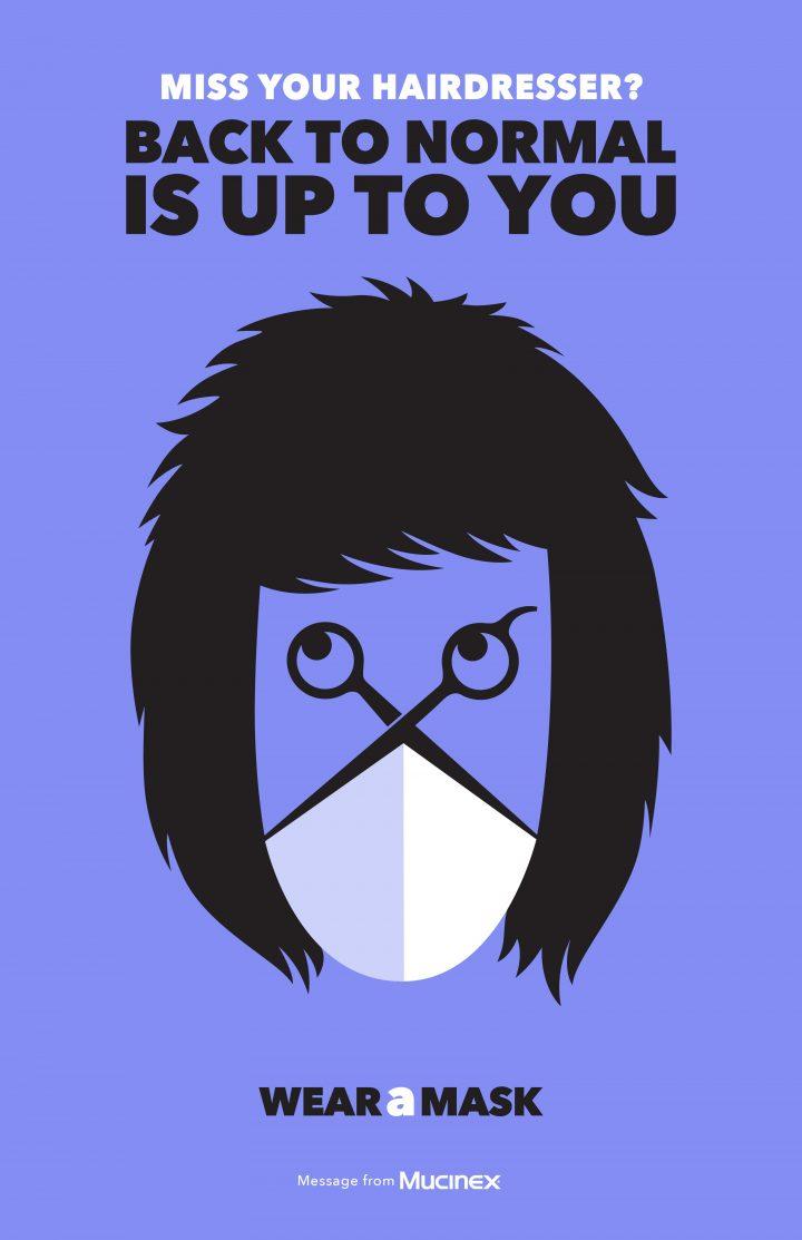 Inspiration et graphisme d'affiches de pub d'Août 2020 43