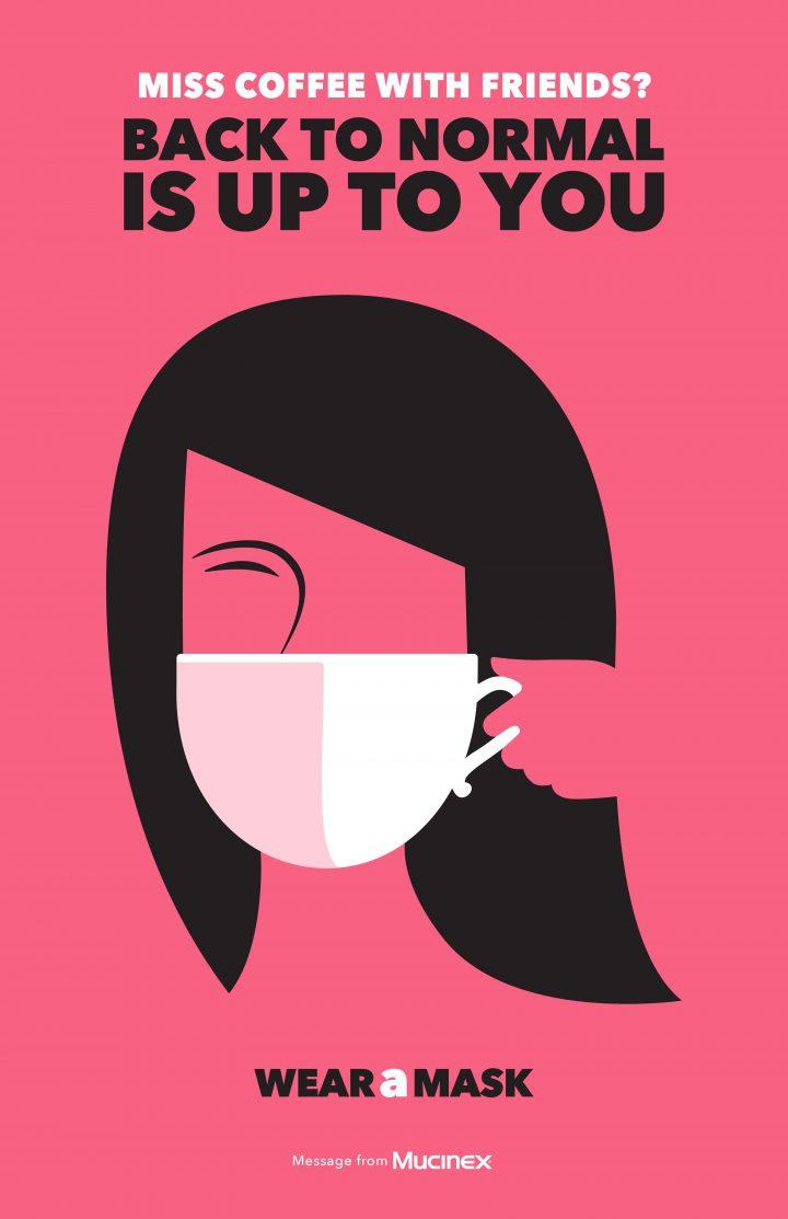 Inspiration et graphisme d'affiches de pub d'Août 2020 45