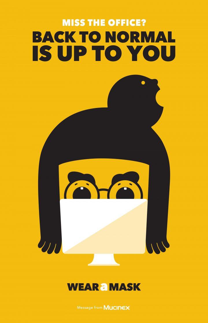 Inspiration et graphisme d'affiches de pub d'Août 2020 46