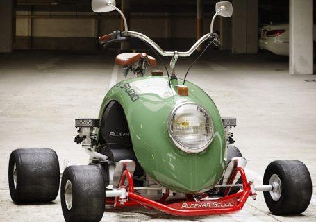 Un karting en forme de cox