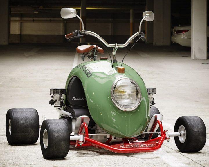 Un karting en forme de cox 4