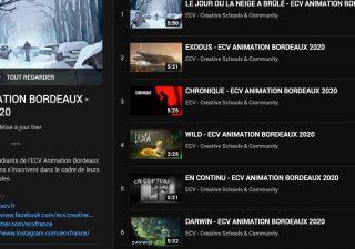 Les courts métrages de l'ECV Bordeaux 2020 1