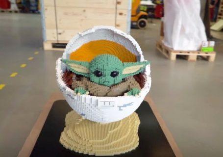 LEGO Baby Yoda pour la sortie de la saison 2 de The Mandalorian 3