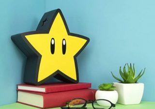 Super Mario Bros Lampe étoile 3