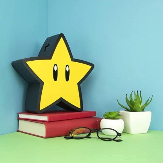 Super Mario Bros Lampe étoile 4