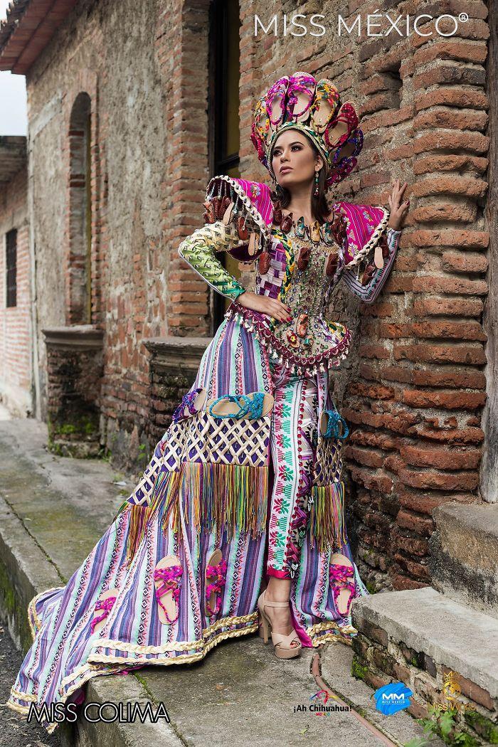 Les superbes costumes des miss mexico 2020 13