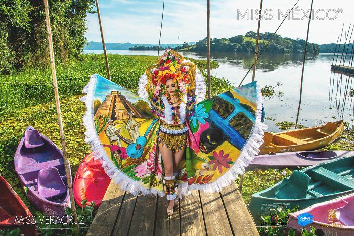 Les superbes costumes des miss mexico 2020 14