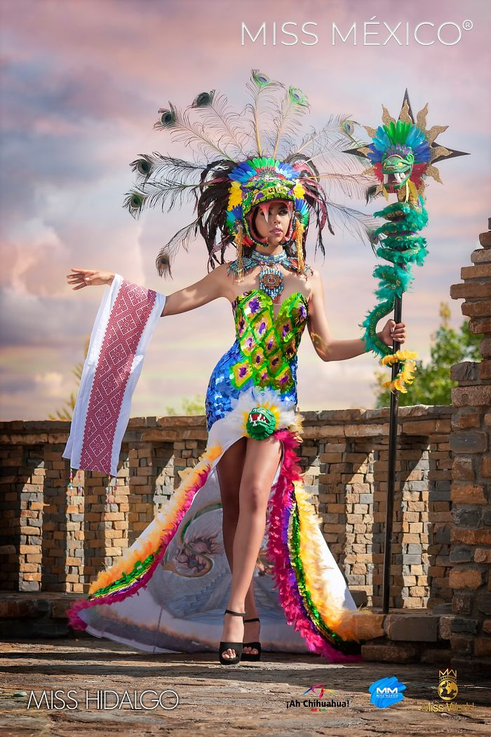 Les superbes costumes des miss mexico 2020 18