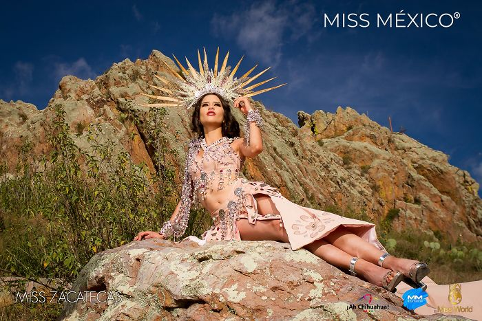 Les superbes costumes des miss mexico 2020 19