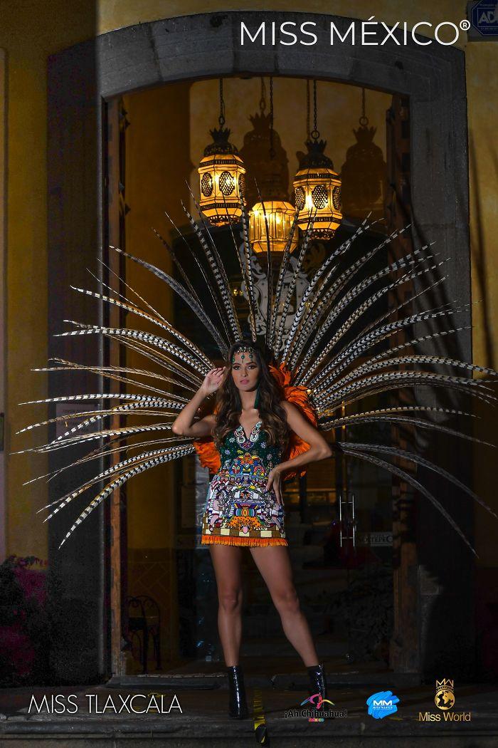 Les superbes costumes des miss mexico 2020 20
