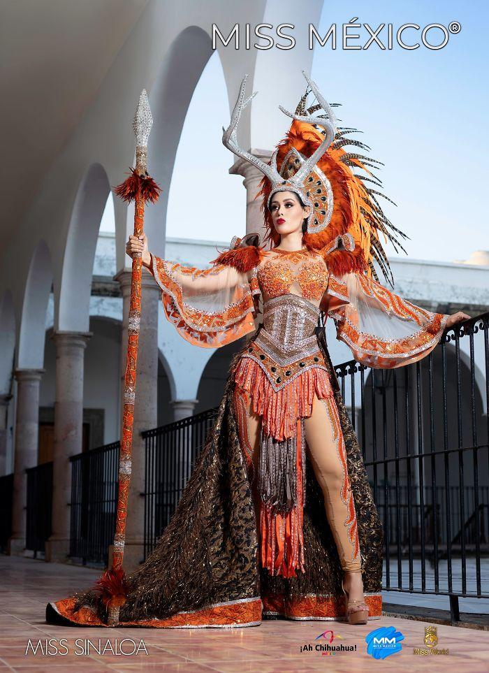 Les superbes costumes des miss mexico 2020 4