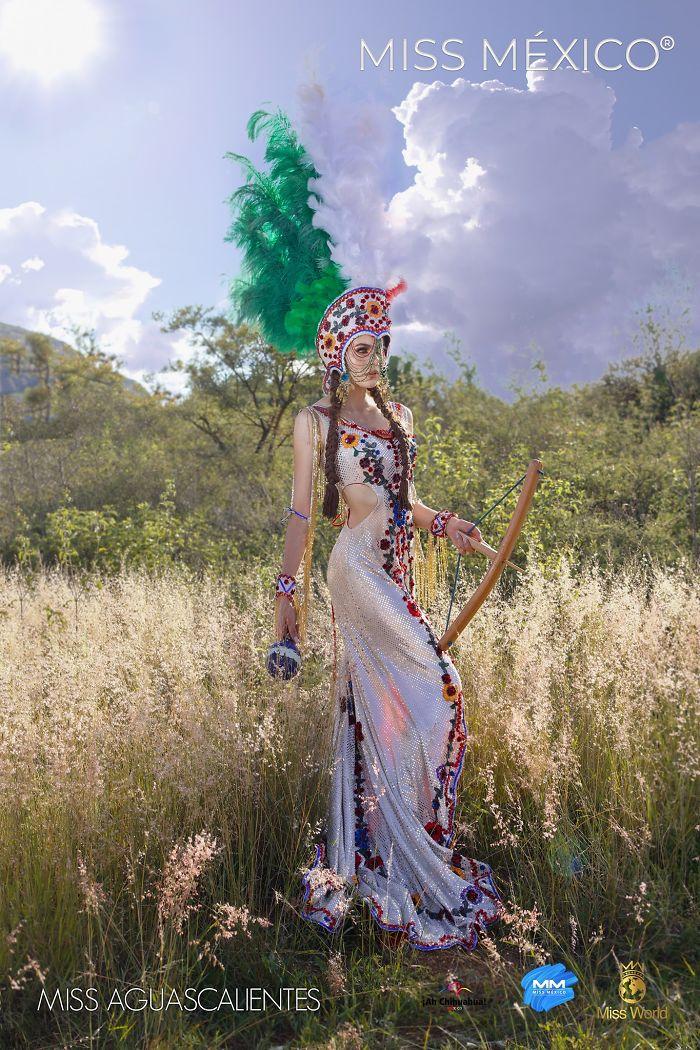 Les superbes costumes des miss mexico 2020 6
