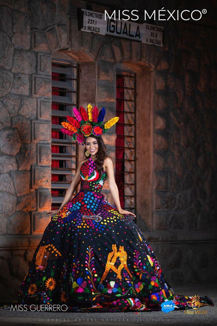 Les superbes costumes des miss mexico 2020 7