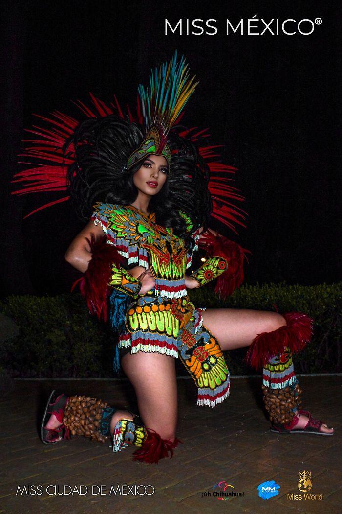 Les superbes costumes des miss mexico 2020 8