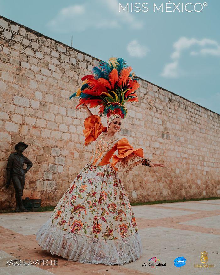 Les superbes costumes des miss mexico 2020 10