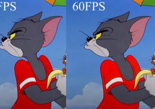 Le dessin animé Tom & Jerry à 60 fps,  donne quoi ? 1