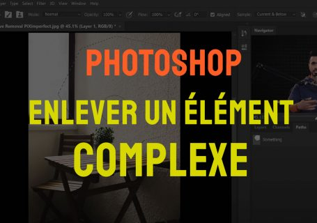 Comment enlever un objet complexe sur photoshop ?