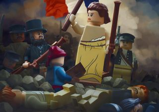 Des Chefs-d'œuvre recréés en LEGO 1