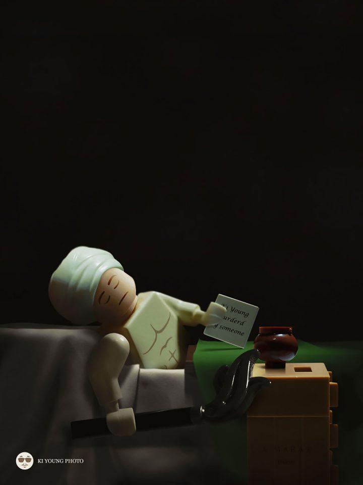 Des Chefs-d'œuvre recréés en LEGO 4
