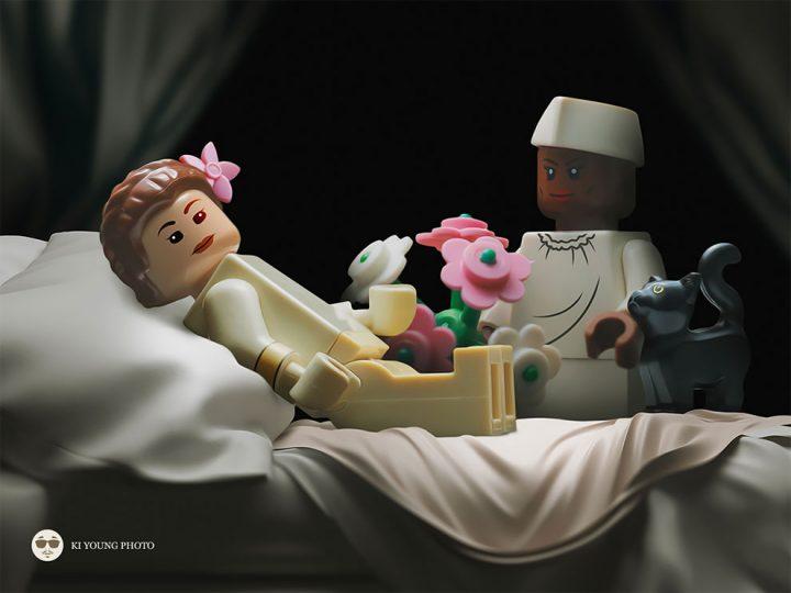 Des Chefs-d'œuvre recréés en LEGO 5