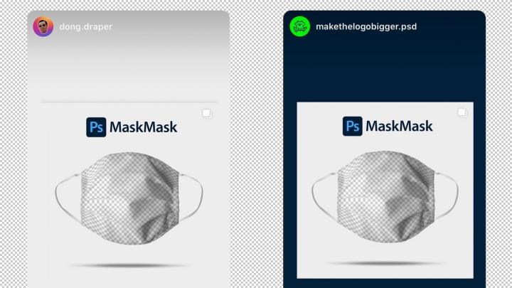 Un masque Photoshop contre le COVID 19 8