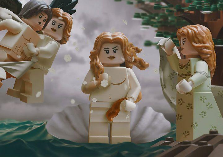 Des Chefs-d'œuvre recréés en LEGO 6