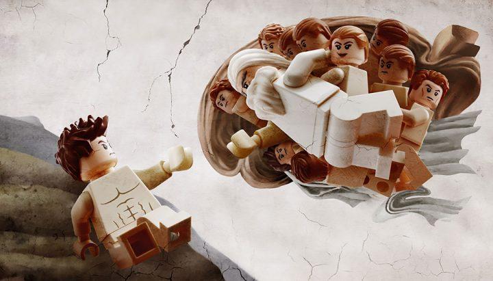 Des Chefs-d'œuvre recréés en LEGO 7