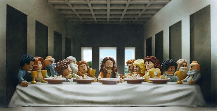 Des Chefs-d'œuvre recréés en LEGO 8