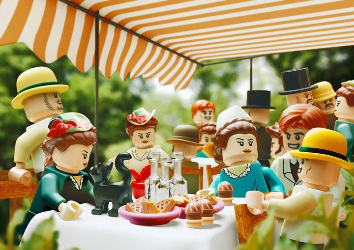 Des Chefs-d'œuvre recréés en LEGO 9