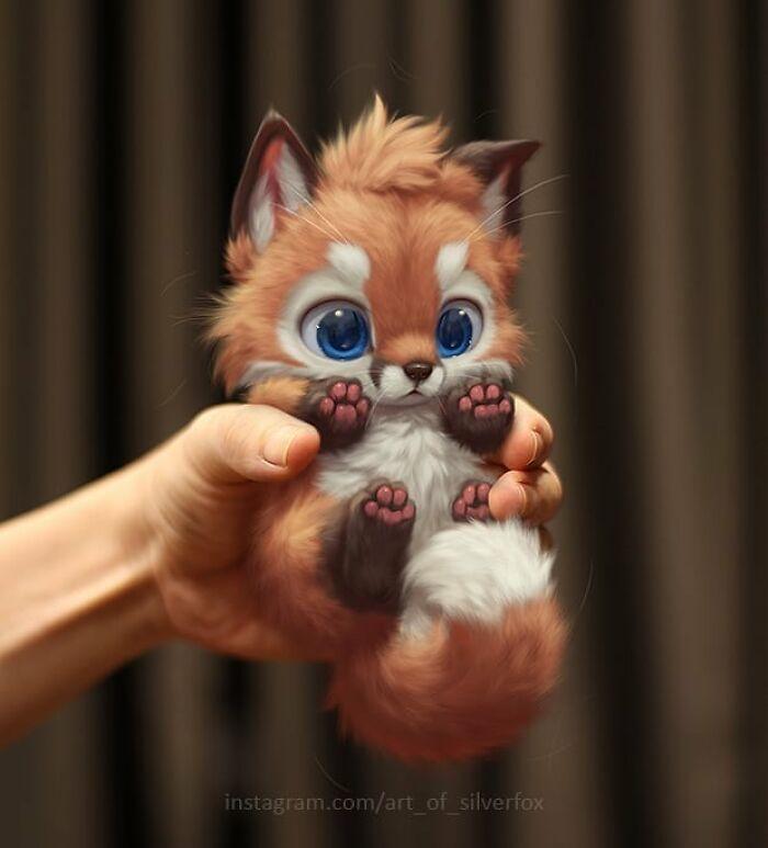 Illustrations du renard le plus mignon du monde 2