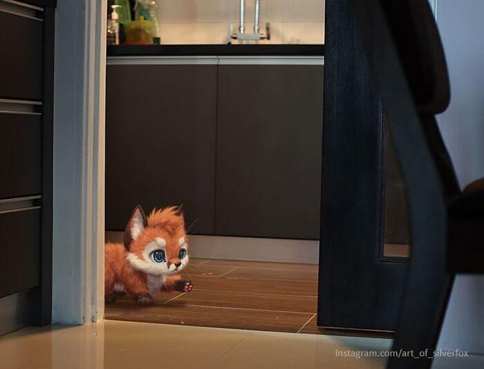Illustrations du renard le plus mignon du monde 18