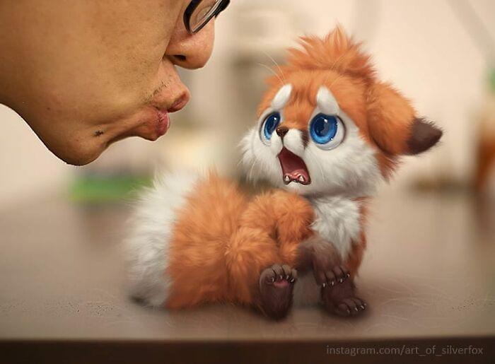 Illustrations du renard le plus mignon du monde 3