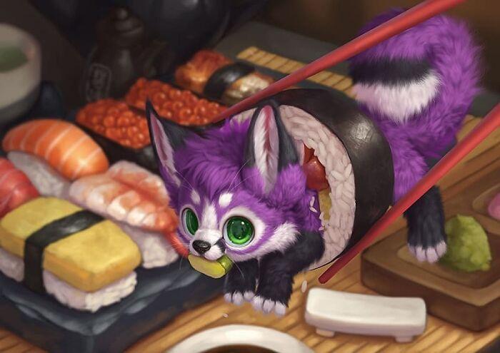 Illustrations du renard le plus mignon du monde 22