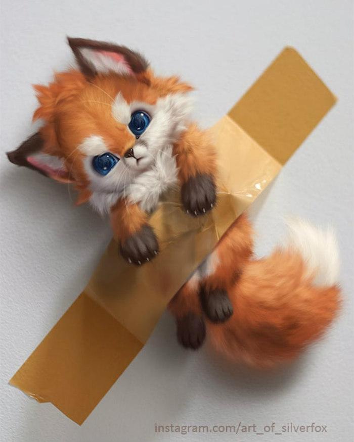Illustrations du renard le plus mignon du monde 6