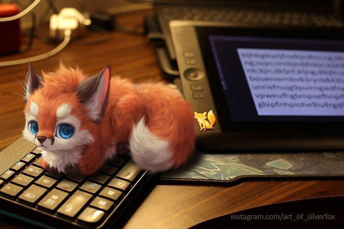 Illustrations du renard le plus mignon du monde 7