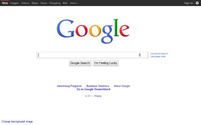 L'historique UX de l'interface de recherche de GOOGLE 9