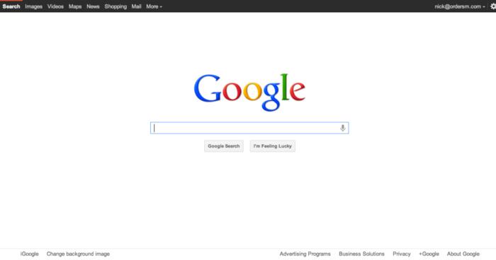 L'historique UX de l'interface de recherche de GOOGLE 10