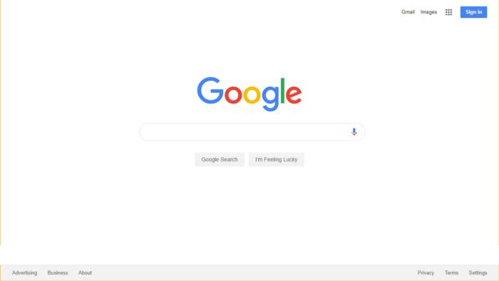 L'historique UX de l'interface de recherche de GOOGLE 12