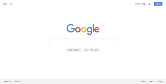 L'historique UX de l'interface de recherche de GOOGLE 13