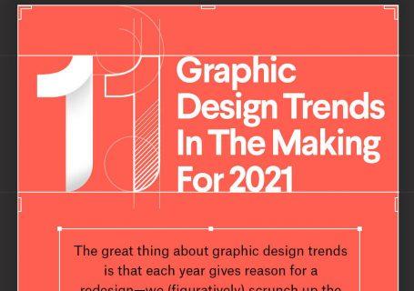 Infographie : Tendances 2021 sur le Graphisme 4