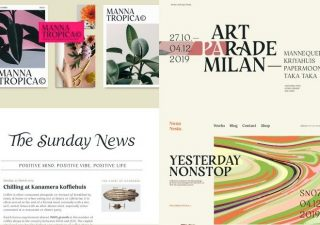 RESTORA - Typographie serif gratuite OLD-STYLE 1