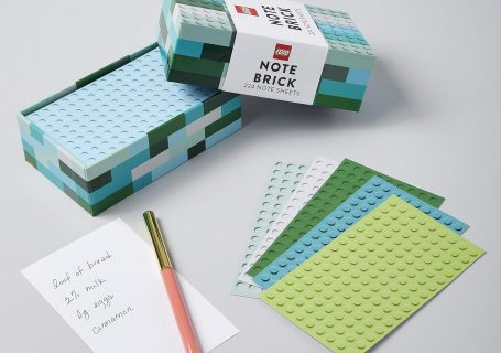 Cahier de note LEGO Note Bricks 80